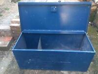 Van vault tool safe box