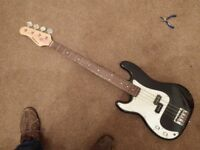 Legacy Left handed Bass guitar