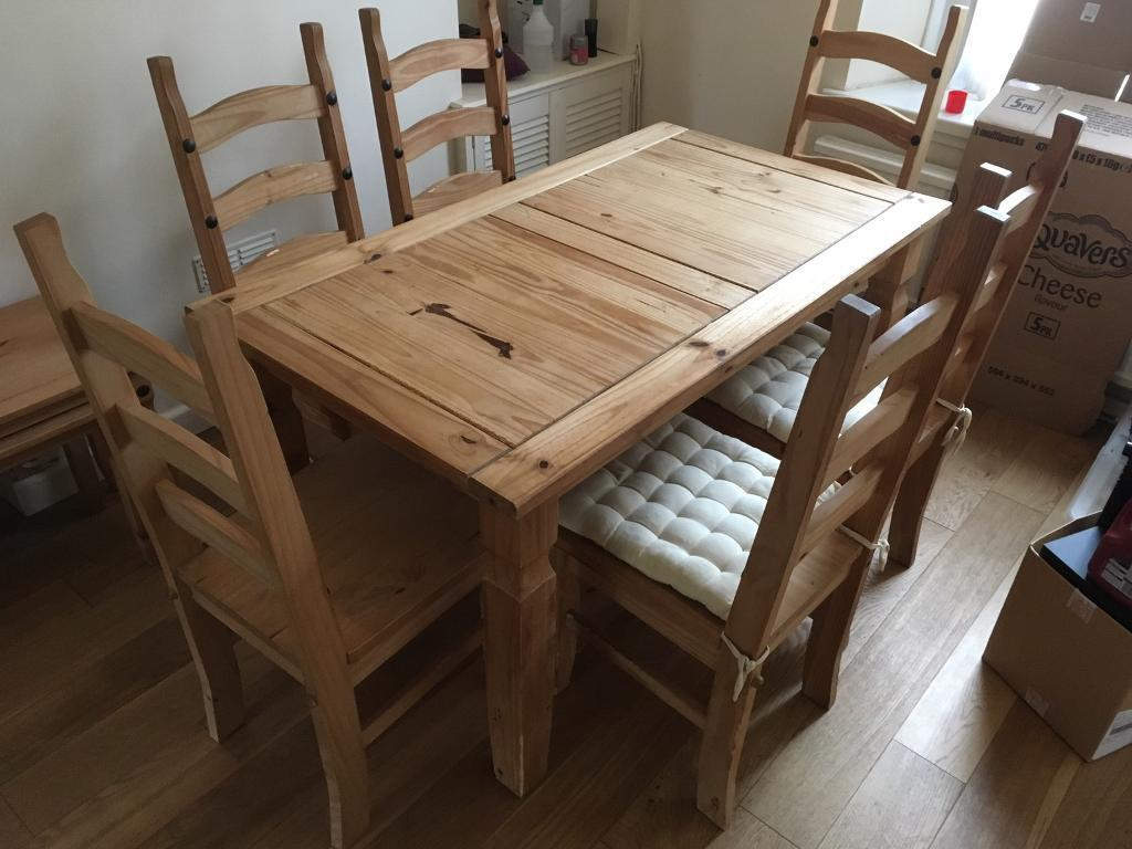 Mexican Pine Living Room Dining Furniture