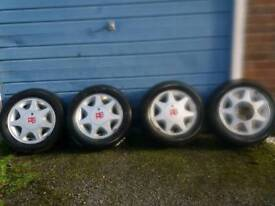 FORD 14 in RS alloy wheels