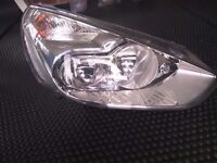 GENUINE FORD GALAXY OFFSIDE DRIVERS FRONT HEADLIGHT