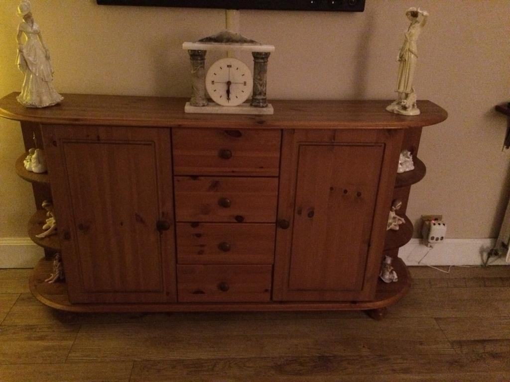 Pine sideboard,coffee table and TV unit in Alexandria, West Dunbartonshire Gumtree