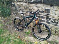 Raleigh Full Suspension Mountain Bike