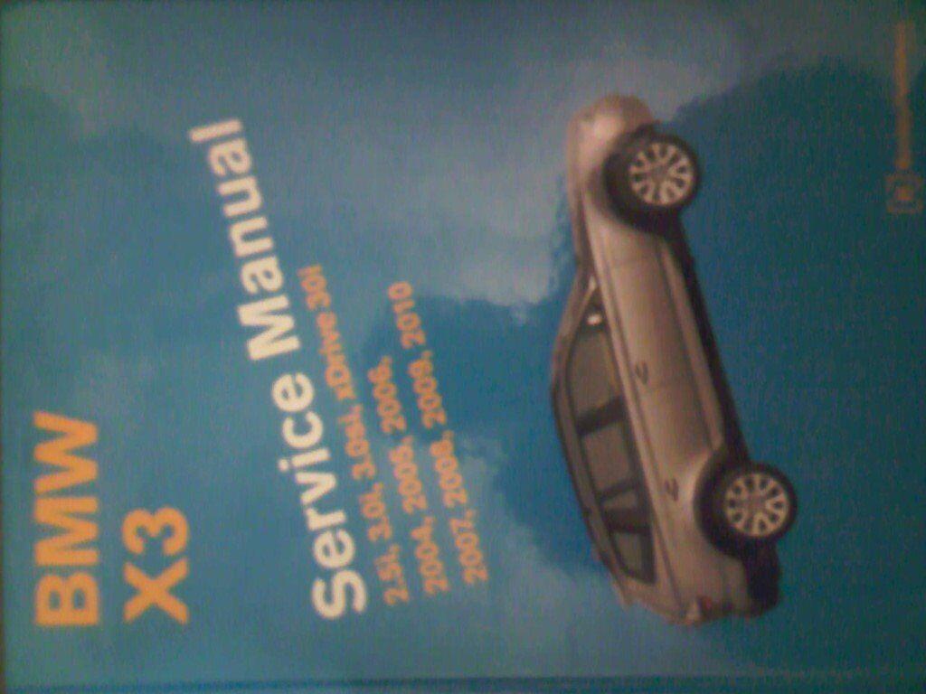 2009 bmw x3 repair manual