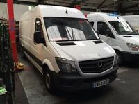 2013 MERCEDES-BENZ SPRINTER.EURO 6 ENGINE. 1 OWNER FROM NEW.LONG WHEEL BASE. FULL SERVICE HISTORY.