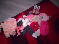 Various girls clothes 6 months up to 8