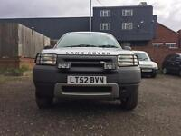 LANDROVER FREELANDER TD4 GS 2002 3 DOOR++BARGAIN OF THE WEEK++DRIVEAWAY TODAY