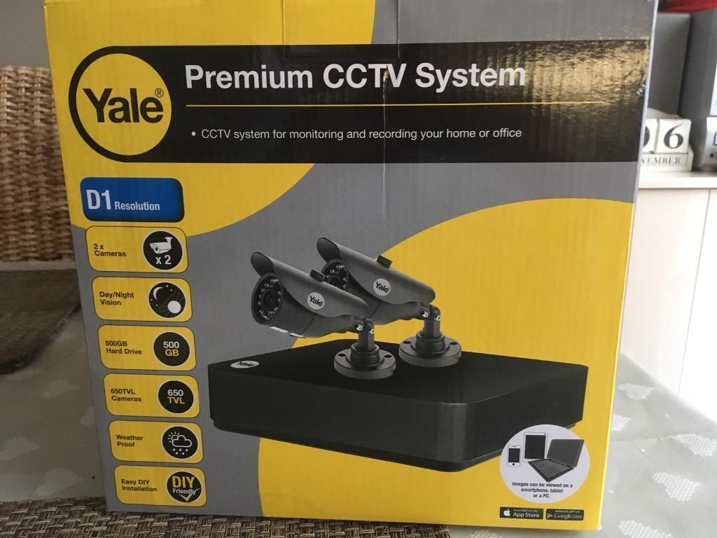 Yale Premium CCTV system