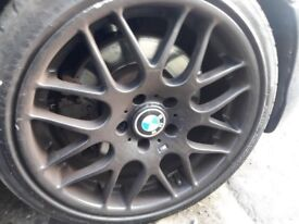 """18"""" bmw csl alloy wheels 5/120"""