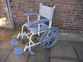 Freeway T70 Shower Commode Chair - Wide hardly used