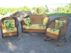 meuble rotin acheter et vendre dans ville de qu bec petites annonces class es de kijiji. Black Bedroom Furniture Sets. Home Design Ideas