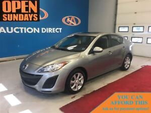 2011 Mazda MAZDA3 GS LEATHER! SUNROOF! FINANCE NOW!