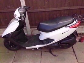 Yamaha xc125 e vity xc 125 4 stroke scooter fuel injected 13 plate honda suzuki piaggio aprilia px