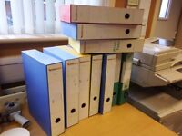 Free A4 Box Files and Lever Arch files