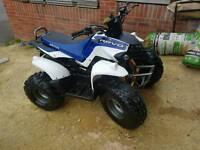 AEON COBRA 100 cc R3 quad , latest model , blue & white
