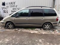 04 FORD Galaxy 1.9 tdi (ASZ) Gold Manual 6speed BREAKING for parts