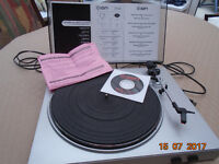 ION Vinyl to CD Converter Turntable and Software Unit
