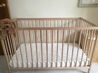 Baby cot/crib from Ikea