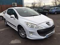 2011 PEUGEOT 308 S 1.6 HDI 5dr # FACELIFT MODEL IN WHITE # CHEAP TAX # CAT C