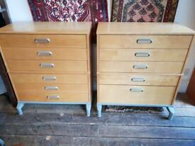Pair Of Old IKEA Chests