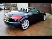 Audi TT Soft Top Black unblemished wheels drives like new