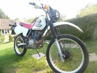 Honda xlr 125 in used condition. MOT till 21/6/17, electric start, good tyres.