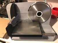 VonShef Precision Electric Food Slicer / Meat Slicer with Stainless Steel Blade