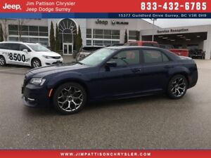 2017 Chrysler 300 S - Low Kms, Loaded!