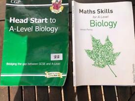 A level Biology textbooks