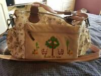 Yummy Mummy Pink Lining Twins Change Bag