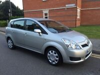 2008 TOYOTA COROLLA VERSO 2.2 DIESEL MANUAL 7 SEATS SUPERB