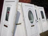 large bundle of upvc doors 7 units and a full house of windows with bead and glass
