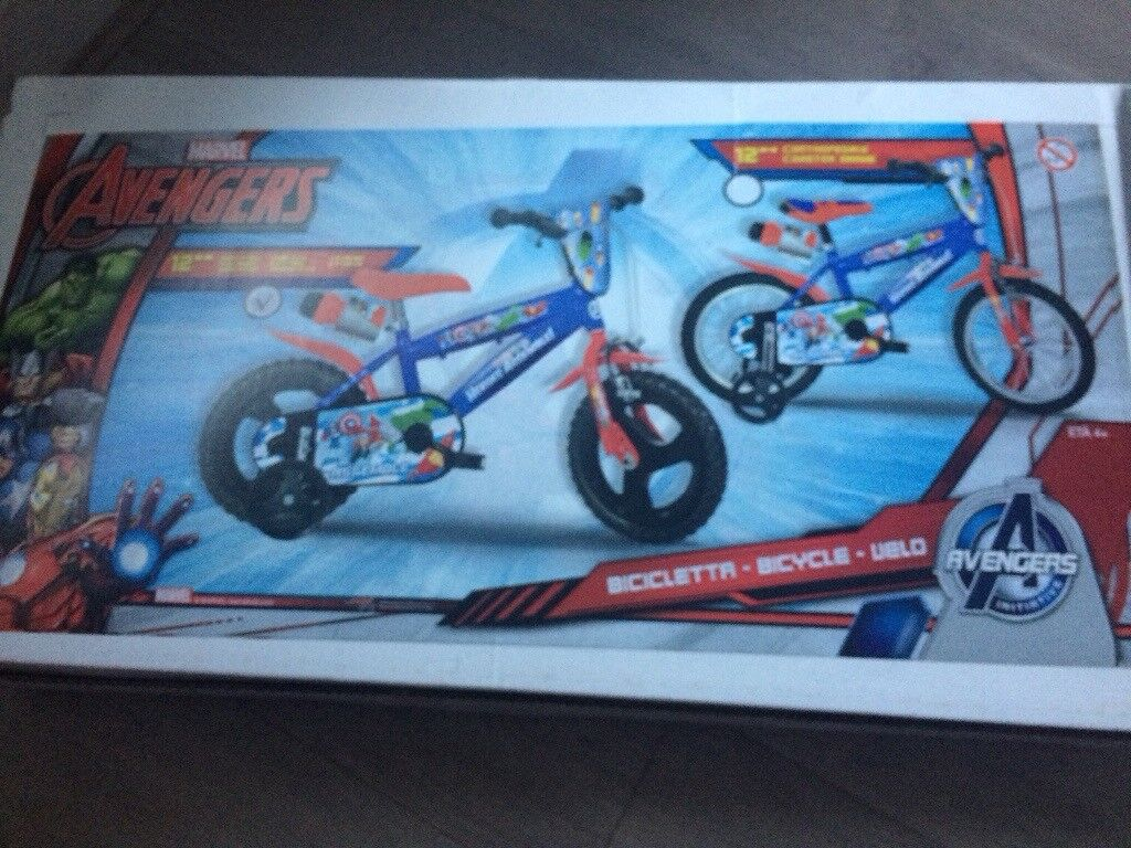 Boys Avenger Bike