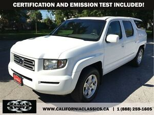 2008 Honda Ridgeline EX-L LEATHER NAV SUNROOF - 4X4