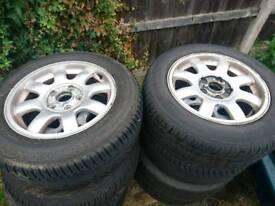 Vw audi wheels tyres 5x112 R15