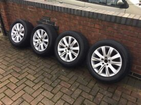 """17"""" VW Sahara Alloy Wheels in excellent condition."""