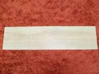 Wood effect ceramic tiles - 6sq mtrs