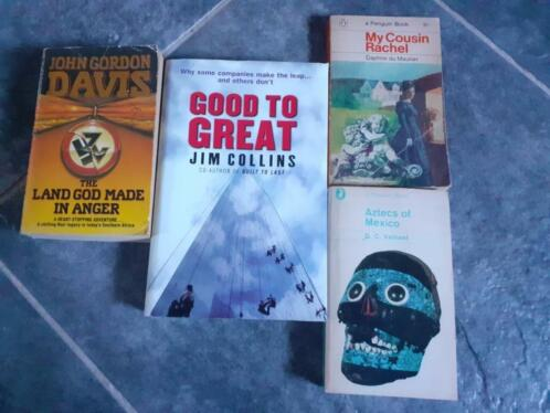 English books (various)