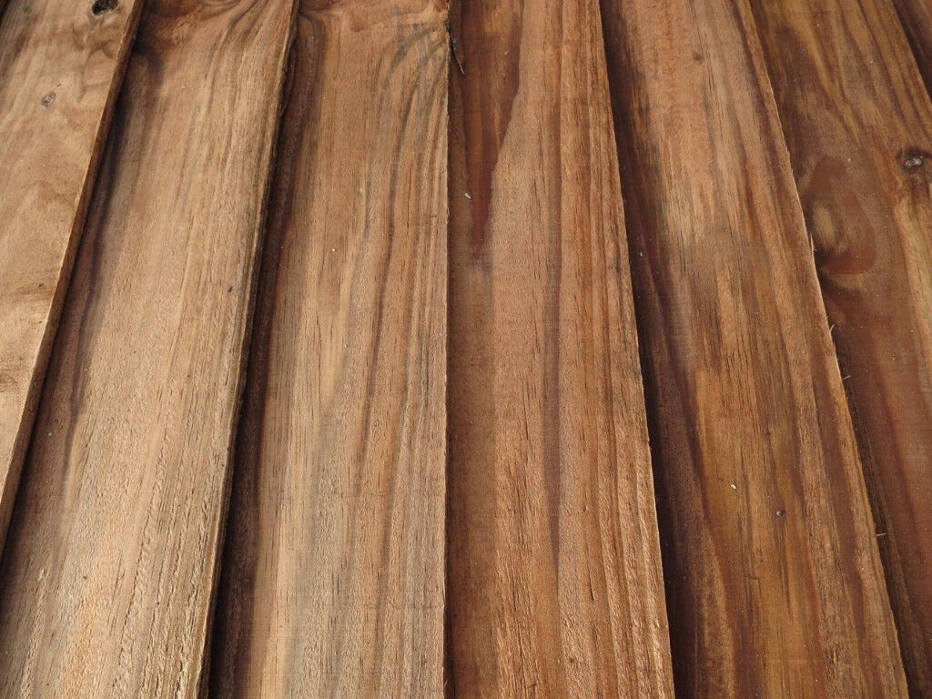 100 X Wooden treated fencing feather edge shed boards 112 cm long X 100 mm wide