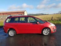 2011 citreon c4 grand picasso 7 seater 8