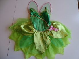 Disney Tinkerbell dressing up with wings costume age 2-3