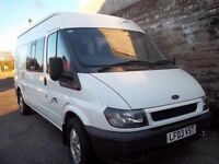 Transit camper, ex bodywork non runner, needs new engine no rust must be seen project!