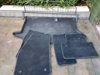 Ford Fiesta dog guard and boot liner plus mats