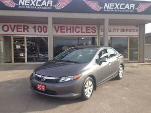 2012 Honda Civic LX AUTO* A/C CRUISE ONLY 75K