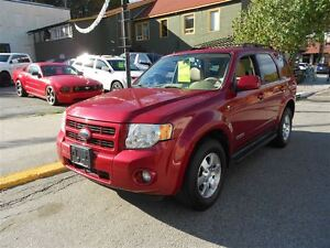 2008 Ford Escape LTD, LEATHER, SUNROOF,