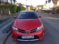 2014 TOYOTA AURIS ICON D-4D 1.4 DIESEL,ONLY 37K MILES, 1 PREV,FULLY LOADED