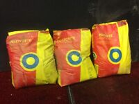 Postcrete bags x3