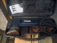 Detail Sander Titan 240v