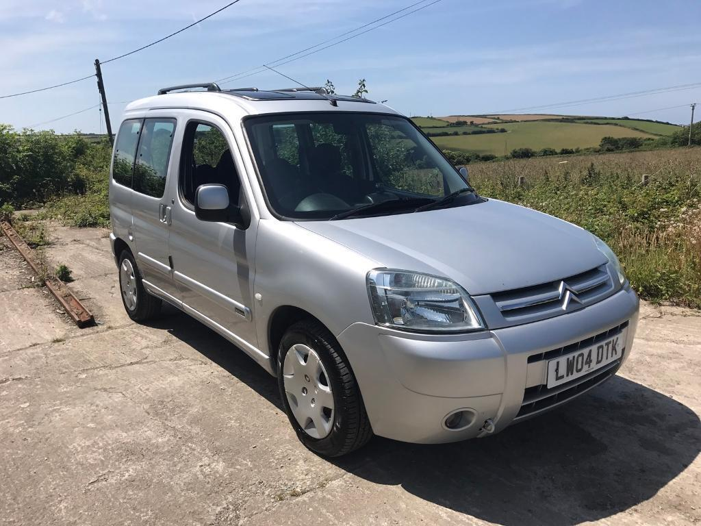 citroen berlingo multispace desire 1 6 silver 2004 1 owner fsh in newquay cornwall gumtree. Black Bedroom Furniture Sets. Home Design Ideas