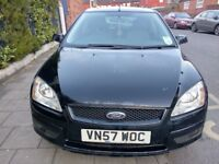 Ford Focus 1.6 TDCI Style Black, Spares or Repairs. Limp Mode, Still Runs